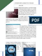 Trabajo No. 22 Lenguaje HTML