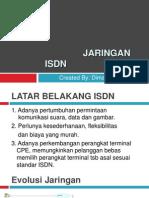 Jaringan Isdn