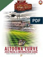 2014 Altoona Curve Media Guide