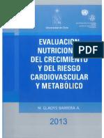Evaluación Nutricional del Crecimiento y del Riesgo Cardiovascular y Metabólico 2013 - Barrera, M.Gladys