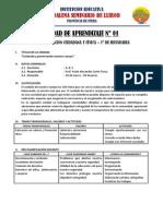 UNIDAD DE APRENDIZAJE 1° [FCC]