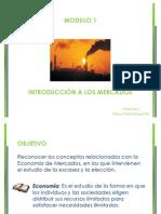 7. Introducción a los Mercados
