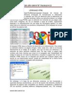 Lenguaje HTML Trabajo22