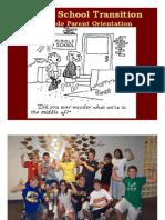 5th Gr Parent Orientation 08