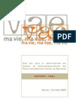 Rapport Sur l'Etat Des Lieux Du Dis Posit If PIC VAE de Bretagne