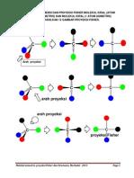 Proyeksi Fisher Molekul Kiral