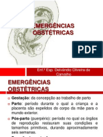 Aula 8 - Emergências Obstétricas