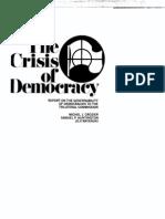 Crisis of Democracy