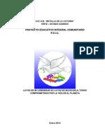 P.E.I.C. Preescolar 2014