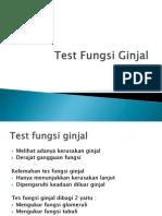 Test Fungsi Ginjal Ut Kbk