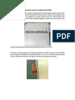 Manual de Usuario Cortadora SCH
