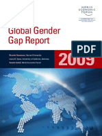 The Global Gender Gap Report 2009