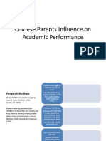 Chinese Parents Influence on Academic Performance