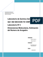 Informe de Laboratorio 2 Quimica