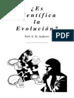 evolución es científica¿