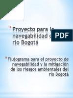 Proyecto para la navegabilidad del río Bogotá