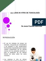 Métodos in vitro de toxicología.ppt
