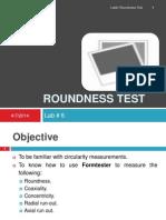 Roundness