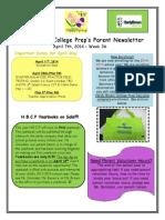 Newsletter - 4.7.2014