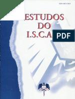 Estudos do ISCAA (2ª série) - Nº1, Ano 1995