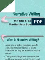 Narrative Writing 2 iera