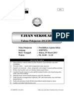 soalusbnpaismptahunpelajaran2012-2013-140313093001-phpapp01
