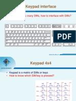 Keypad Interface 1