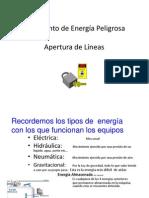 Aislamiento de Energía Peligrosa-Apertura de Líneas _ contr