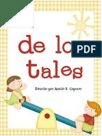 Abril Handprint Calendar Por de Los Tales