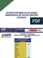 Reporte Casanare 03042014