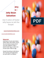 Youth Ministry Illustrations - Jelly Bean Salvation