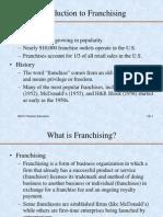 Franchising