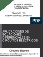APLICACIONES DE ECUACIONES DIFERENCIALES EN CIRCUITOS ELÉCTRICOS