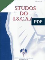 Estudos do ISCAA (2ª série) - Nº3/4, Ano 1997/98
