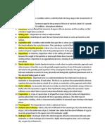 Vocabulary ch. 13 Chemistry