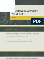 Hipertension Arterial y NOM-030