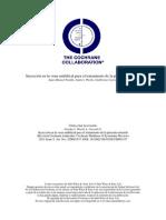 COCHRANE Inyección en la vena umbilical para el tratamiento de la placenta retenida