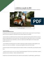Conheça o carro elétrico made in RS - Economia - Zero Hora