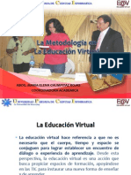 La Metodologia en La Educacion Virtual