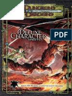 D&D 3.5 Deluxe Character Sheet