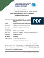 Form – LKTIM KMTG UGM – FT. UNTIRTA – Pemanfaatan Limbah Kulit Kacang – Cilegon
