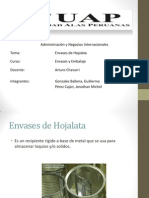 Envases de Hojalata