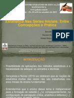Estatística Nas Séries Iniciais Entre Concepções e Prática