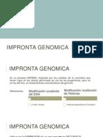 Impronta genomica