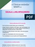 Escalas Clínicas estándar MMPI-2
