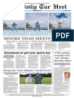 The Daily Tar Heel for April 8, 2014