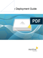 Aerohive Deployment Guide