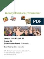 Lesson Plan 3- Brian Trenholm