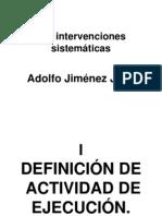 Las Intervenciones Sistematicas