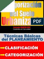 Categorizacion Suelo Urbanizable